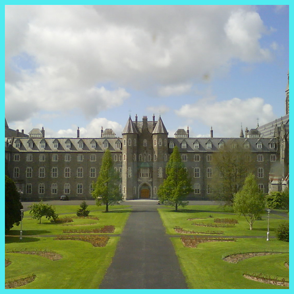 St. Joseph's square in Maynooth, Ireland.